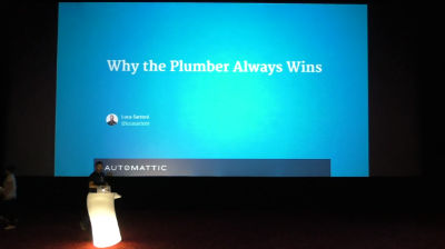 Luca Sartoni: Why the Plumber Always Wins – How to Become a Better WordPress Professional