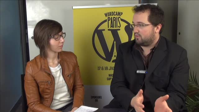 Interview d'Amaury Balmer au WordCamp Paris 2014