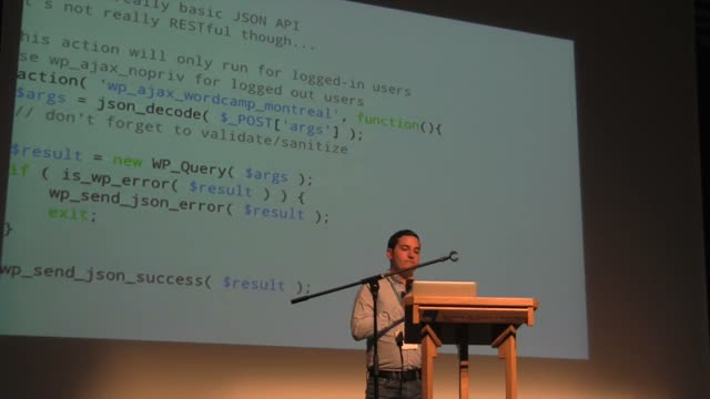 Joey Kudish: WordPress, APIs and You
