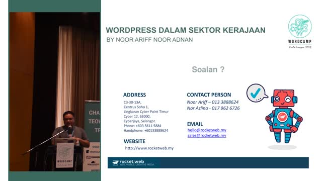 Noor Ariff Noor Adnan: WordPress dalam Sektor Kerajaan