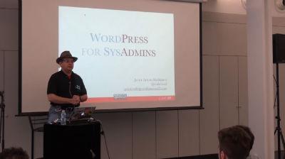 Javier Arturo Rodríguez: WordPress for SysAdmins