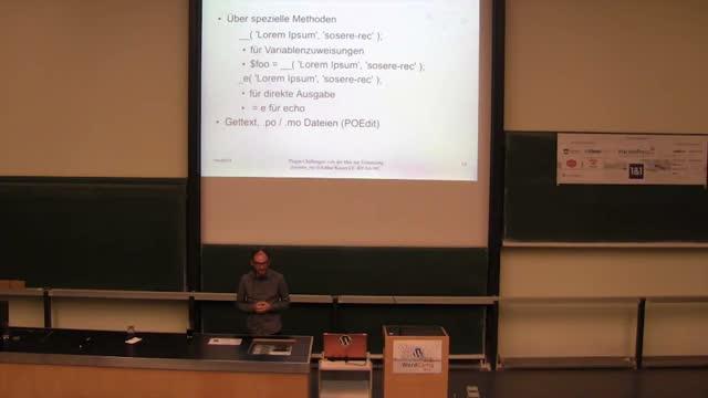 Arthur Kaiser: Plugin Challenges - von der Idee zur Umsetzung