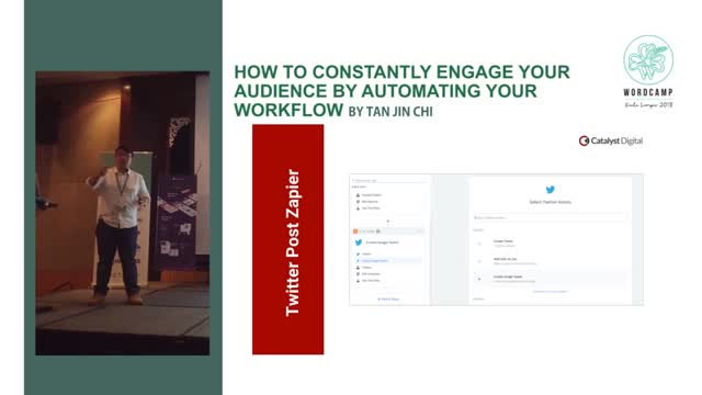 Tan Jin Chi: How to constantly engage your audience by automating your workflow