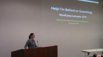 Beth Soderberg: Help! I'm Behind on Gutenberg!