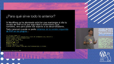 "Javier Casares: WordPress y PHP: ""Codename Servehappy"" y ""Project Tide"""