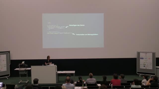Daniela Wibbeke: Custom Theme Entwicklung