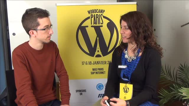 Interview with Sara Rosso at WordCamp Paris 2014