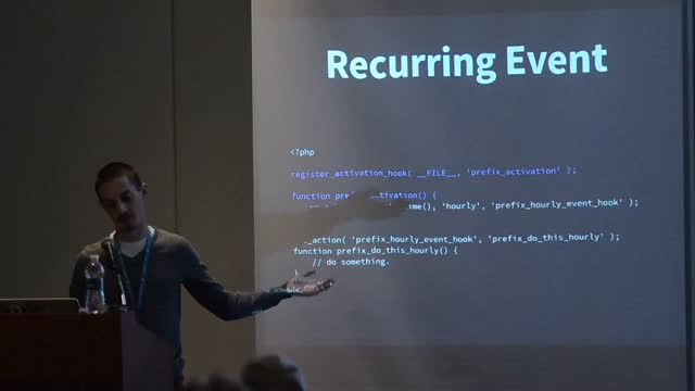 JR Tashjian: Getting Started With the Cron API