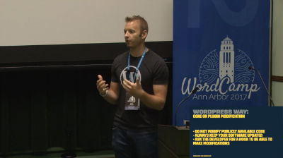 Dustin Hartzler: Whoops I Did it Again; How to Fix Your Site if You Haven't Followed WordPress Stand