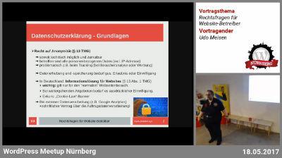 Udo Meisen: Rechtsfragen für Website-Betreiber - Teil 2