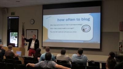 Jarrett Gucci: Creating a Blogging Schedule Using The 20/30 Rule