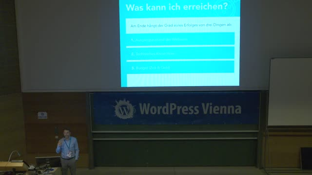 David Bongard: Ladezeit-Optimierung für WordPress in der Praxis