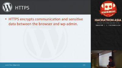 Lester Chan: Tips and Tricks in Securing Your WordPress Installation