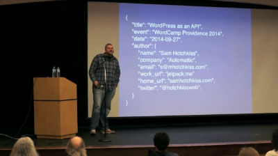 Sam Hotchkiss: WordPress as an API – The Power of Semantic Data