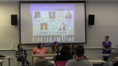 Michelle Ames, Christine Baker Marriage, Tracy Rotton, Shanta Nathwani, Miriam Goldman: Women in WordPress (Panel Discussion)