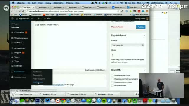 Scott Bolinger: Mobile Apps Using WordPress
