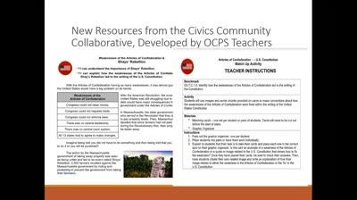 2020-08-05 09.00 OCPS Civics Online PD