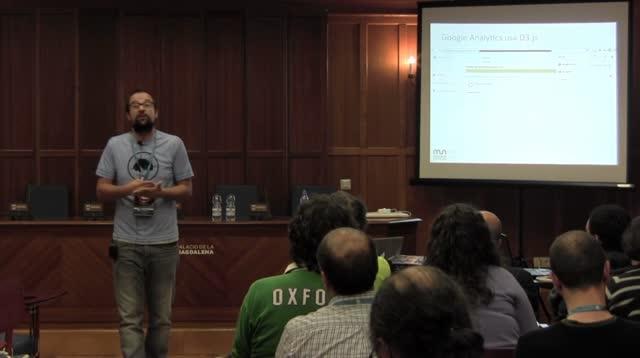 Dani Reguera: Visualizaciones de datos avanzadas en WordPress