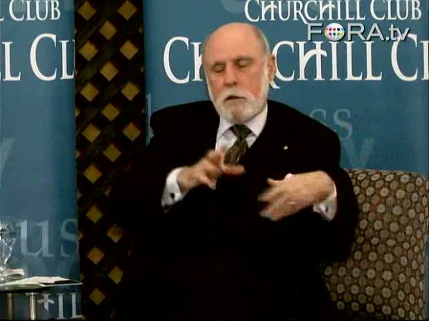 The InterCloud and Future of Computing: A Few Moments with Vint Cerf