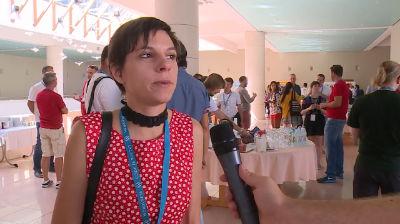 Nela Dunato (voted best speaker) - Interview