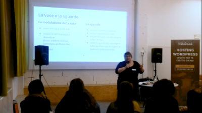 Barbara Damiano: Parlare in pubblico