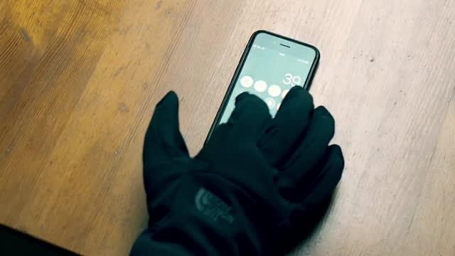 urok kosztów niska cena sprzedaży najlepsze trampki Rękawiczki narciarskie do smartfona | nakreche
