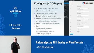Piotr Niewiadomski: Automatyczny GIT deploy w WordPressie
