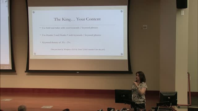 Billie Hillier: How to Make Readers & Search Engines Love Your Content