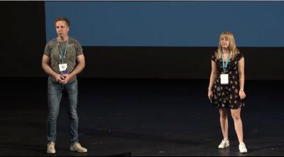 Olaf Lederer, Sharon Lederer: How to scale up your WordPress website to the next level?