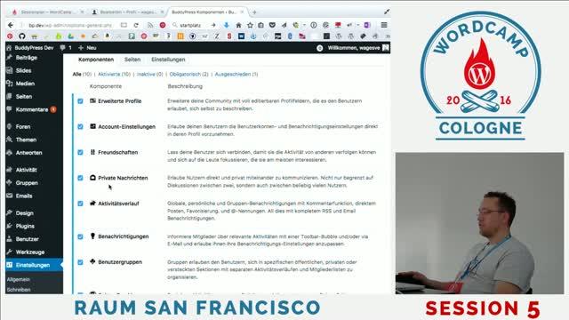Sven Wagener: Was ist BuddyPress?