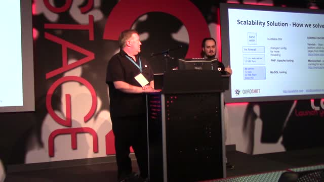 Chris Webb and Michael Cremean: WordPress Scaling and Security