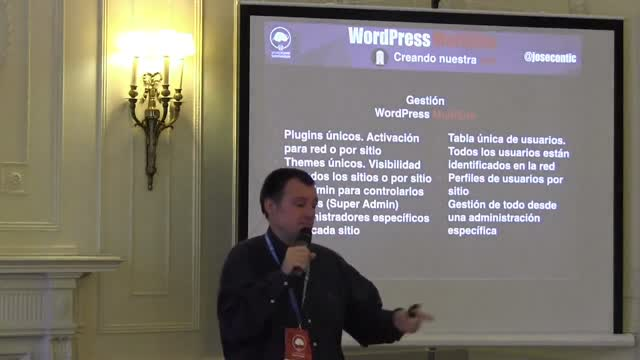 Jose Conti: WordPress, WordPress Multisite y WordPress MultiNetwork