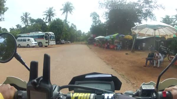 Motorcycle Ride to Angkor's Outlying Temples