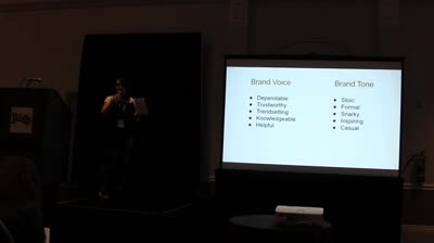 Who Are You Using Voice and Tone to Support Your Brands Message – Laura Coronado