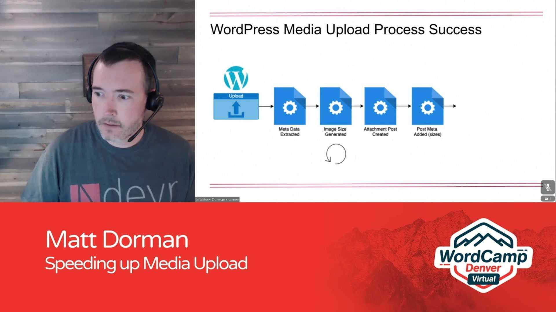 Matt Dorman: Speeding up Media Upload