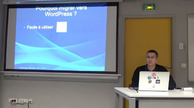 Frédéric GILLES: Migration d'un site Joomla vers WordPress