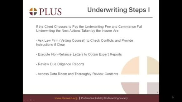 underwriting agreement representations and warranties loan