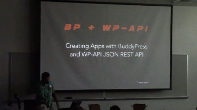 Ryan Fugate: Social Mobile Apps - BuddyPress + WP-API