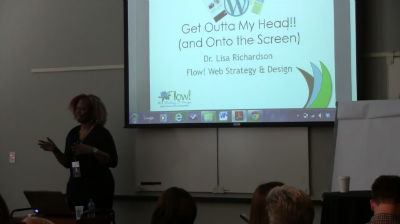 Dr. Lisa Richardson: Get Outta My Head and Onto the Screen!