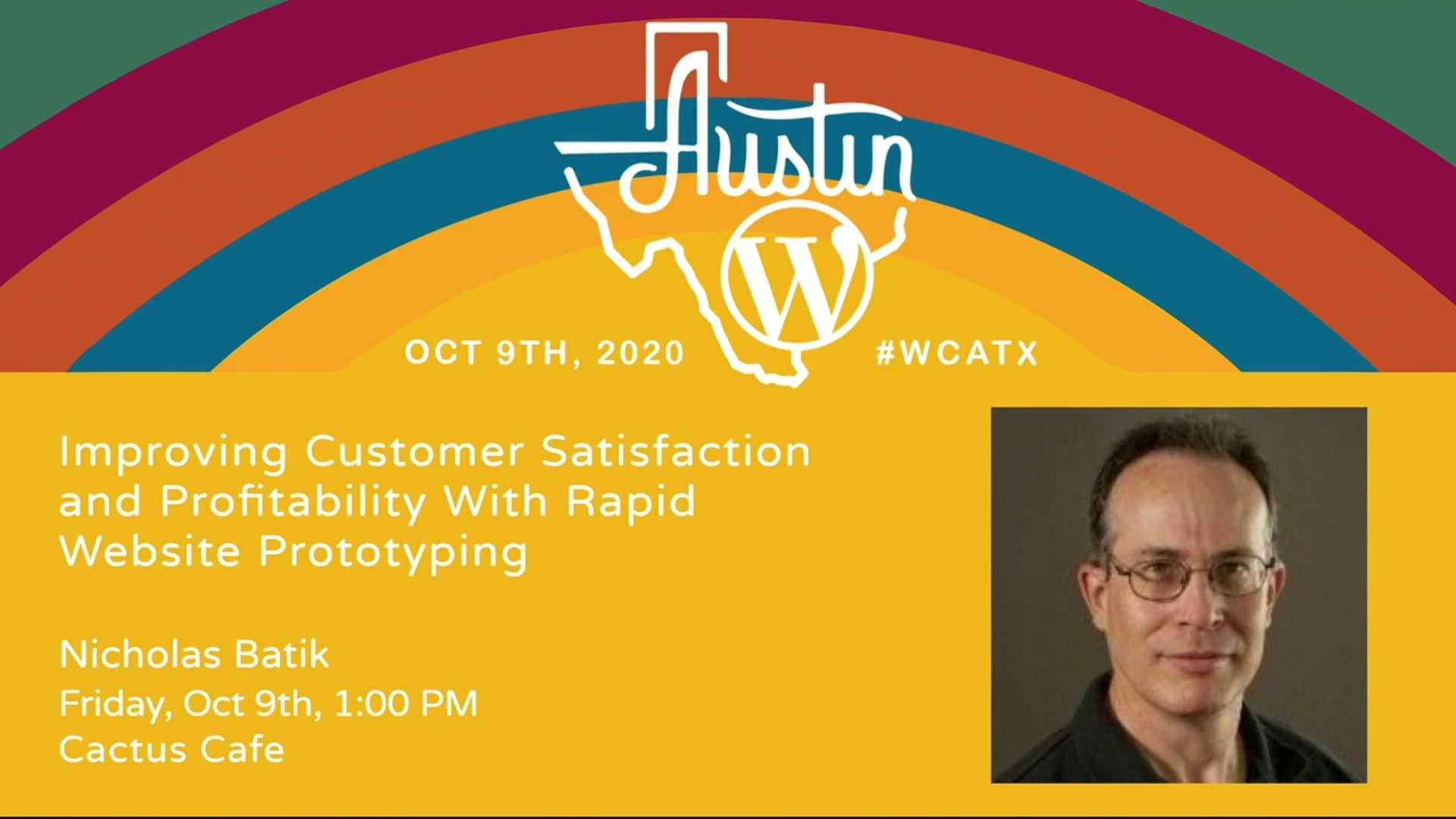 Nicholas Batik: Improving Customer Satisfaction and Profitability With Rapid Website Prototyping