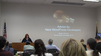 Susan Walker: Advice for New WordPress Developers