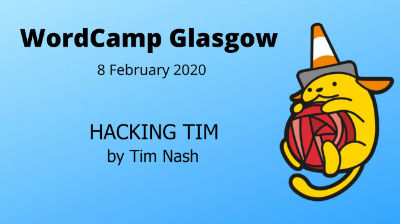 Tim Nash: Hacking Tim