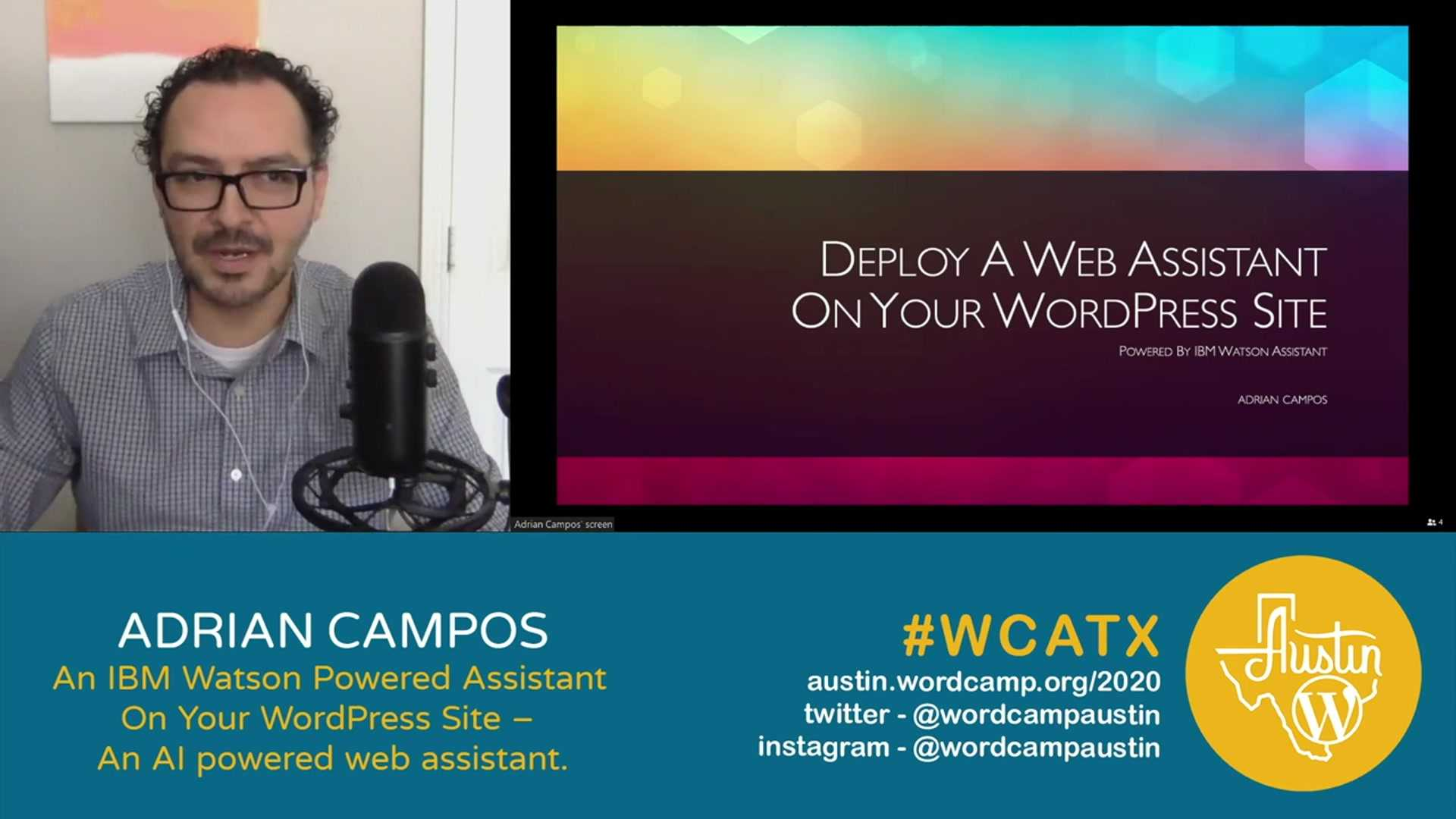 Adrian Campos: An IBM Watson Powered Assistant On Your WordPress Site – An AI powered web assistant