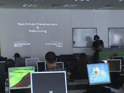Stefan Kanev: Test-Driven Development And Refactoring