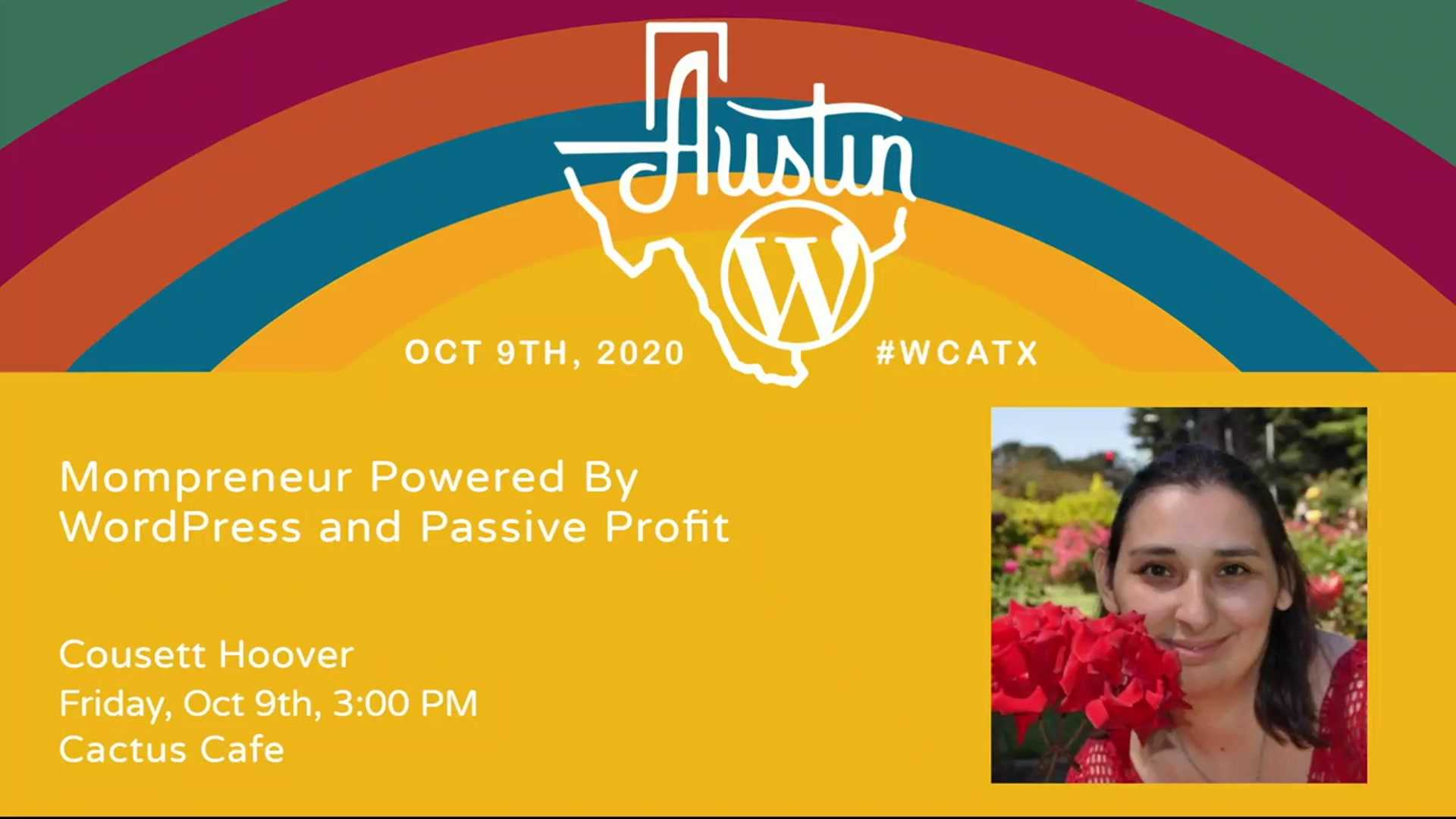 Cousett Hoover: Mompreneur Powered By WordPress and Passive Profit