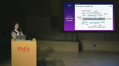"Tessa Kriesel: Keynote – ""The Art of Building Community with WordPress"""