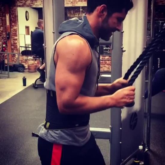 Tom ellis Workout 14aug18