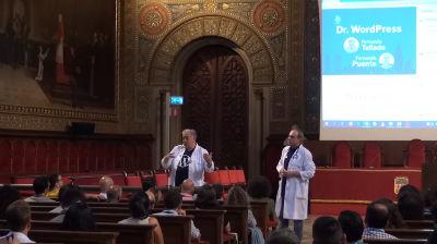 Fernando Puente y Fernando Tellado: Doctor WordPress