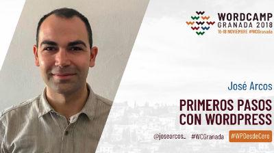 José Arcos: Primeros pasos con WordPress
