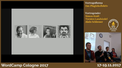 Bernhard Kau, Simon Kraft, Torsten Landsiedel, Alain Schlesser: Das Pluginkollektiv